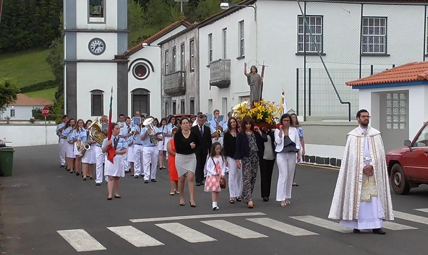 PROCISSÃO DE SÃO JOÃO BAPTISTA – Santo Amaro – Ilha de São Jorge (c/ vídeo)
