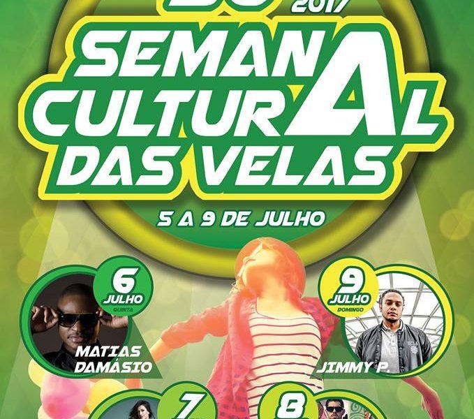 30º SEMANA CULTURAL DAS VELAS – ILHA DE SÃO JORGE (5 a 9 de Julho)- PROGRAMA DETALHADO