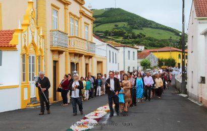 PROCISSÃO DE SÃO JOÃO BAPTISTA – Santo Amaro – Ilha de São Jorge (c/ reportagem fotográfica)