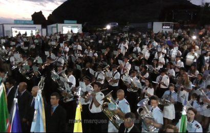 FESTIVAL DE BANDAS – 30ª SEMANA CULTURAL – Velas – Ilha de São Jorge (c/ vídeo)