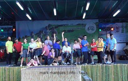 GRUPO DE DANÇA DO CAO (Centro de Atividades Ocupacionais)- FESTIVAL DE JULHO 2017 – Ilha de São Jorge (c/ vídeo)