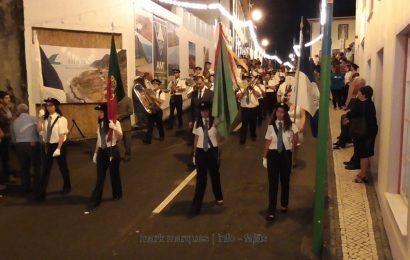 BANDA FILARMÓNICA DA SOCIEDADE ESTÍMULO EM DESFILE – FESTIVAL DE JULHO 2017 – Ilha de São Jorge (c/ vídeo)