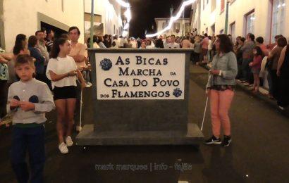 MARCHA DA CASA DO POVO DOS FLAMENGOS (ILHA DO FAIAL) – FESTIVAL DE JULHO 2017 – CALHETA – Ilha de São Jorge (c/ vídeo)