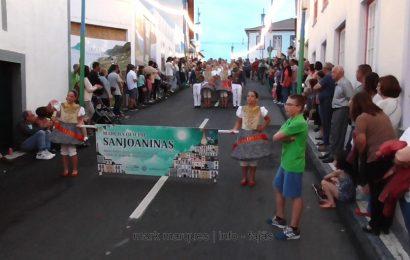 MARCHA OFICIAL DAS SANJOANINAS (2017) – FESTIVAL DE JULHO 2017 – CALHETA – Ilha de São Jorge (c/ vídeo)