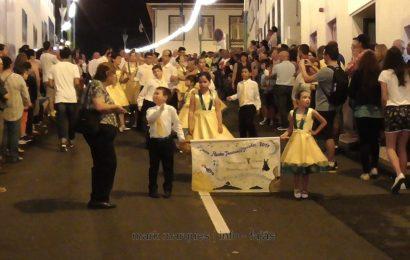MARCHA DAS MANADAS – FESTIVAL DE JULHO 2017 – CALHETA – Ilha de São Jorge (c/ vídeo)