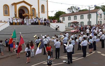 BANDA FILARMÓNICA SAÚDA Nª Srª DE LOURDES – SANTO ANTÃO – Ilha de São Jorge (c/ vídeo)