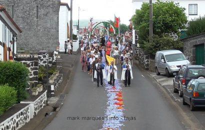 PROCISSÃO DE SANTA ANA – FESTAS DE SANTA ANA – BEIRA – Ilha de São Jorge (c/ vídeo)