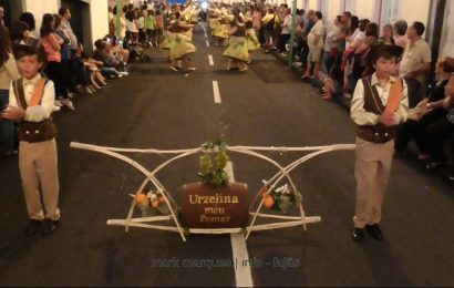 MARCHA DA URZELINA (Urzelina meu pomar) – FESTIVAL DE JULHO 2017 – CALHETA – Ilha de São Jorge (c/ vídeo)