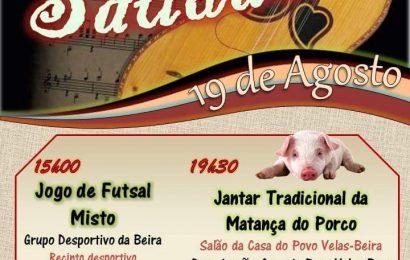 FESTA DA SAUDADE – CASA DO POVO DE VELAS (BEIRA) NO PRÓXIMO SÁBADO 19 DE AGOSTO