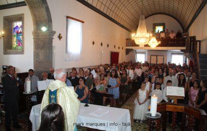 FESTA DE Nª SRª DAS NEVES (MISSA) – NORTE GRANDE – Ilha de São Jorge (c/ vídeo)