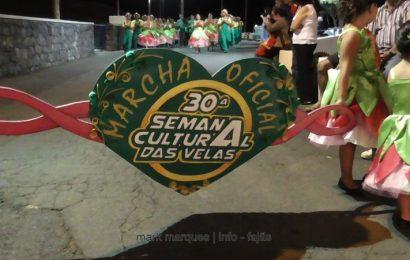 MARCHA OFICIAL DA 30ª SEMANA CULTURAL DESFILA NAS FESTAS DE ROSAIS – ROSAIS – Ilha de São Jorge (c/ vídeo)