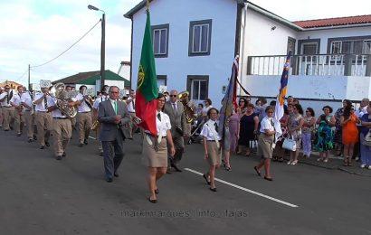 BANDA FILARMÓNICA NOVA ALIANÇA NAS FESTAS DE ROSAIS – Ilha de São Jorge (c/ vídeo)