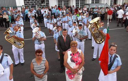 BANDA FILARMÓNICA DE SANTO AMARO NAS FESTAS DE ROSAIS – Ilha de São Jorge (c/ vídeo)