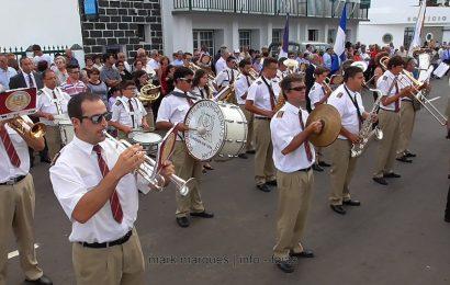 BANDA FILARMÓNICA UNIÃO POPULAR NAS FESTAS DE ROSAIS – Ilha de São Jorge (c/ vídeo)