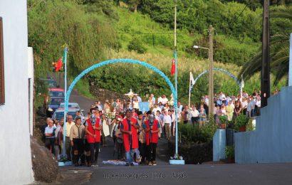 MISSA / PROCISSÃO / ARREMATAÇÕES – FESTA DE Nª SRª DA ENCARNAÇÃO – RIBEIRA DO NABO – Ilha de São Jorge  (c/ reportagem fotográfica)