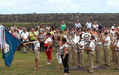 BANDA FILARMÓNICA EXECUTA HINO DO SANTO CRISTO (Fajã da Caldeira de Santo Cristo) – Ilha de São Jorge (c/ vídeo)