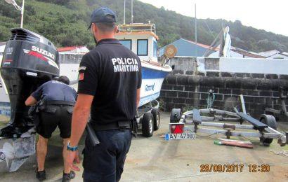 Polícia Marítima apreende motores fora-de-borda – Ilha do Pico