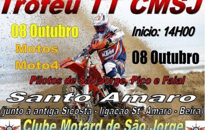 """CLUBE MOTARD DE SÃO JORGE PROMOVE """"TROFÉU TT"""" – Domingo dia 8 (Santo Amaro) – Ilha de São Jorge"""