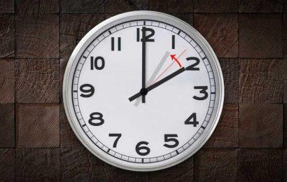 RELÓGIOS ATRASAM 60 MINUTOS PARA A HORA DE INVERNO (próximo Domingo dia 29)