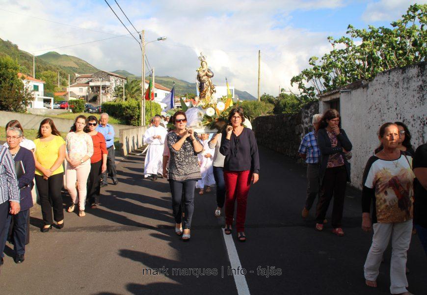 QUEIMADA / SANTO AMARO – PROCISSÃO DE Nª SRª DA LUZ – Ilha de São Jorge (c/ vídeo)