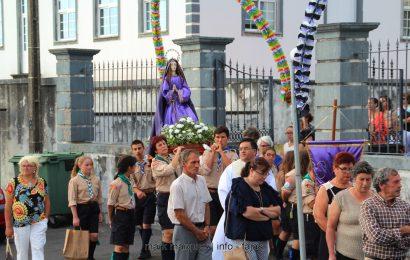PROCISSÃO DA SRª da BOA MORTE – URZELINA – Ilha de São Jorge (c/ vídeo)