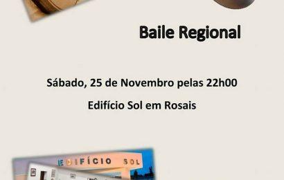 BAILES REGIONAIS NO EDIFÍCIO SOL – Rosais – Ilha de São Jorge (próximo sábado dia 25)