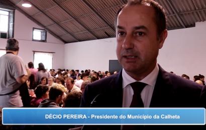 Décio Pereira, Presidente do Município da Calheta apela à união de todos no concelho e entre concelhos da Ilha de São Jorge (c/ vídeo)