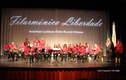 FILARMÓNICA LIBERDADE – SOCIEDADE LUSITÂNIA CLUBE RECREIO VELENSE EM CONCERTO – Ilha de São Jorge (c/ vídeo)