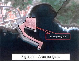 AUTORIDADE MARÍTIMA AVISA – REBENTAMENTOS SUBAQUÁTICOS NO ÂMBITO DA CONSTRUÇÃO DA RAMPA RO-RO DO PORTO DA CALHETA – Ilha de São Jorge
