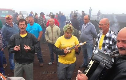 FESTA NA GANADARIA GABRIEL AZEVEDO (São Tomé) – Ilha de São Jorge (c/ vídeo)