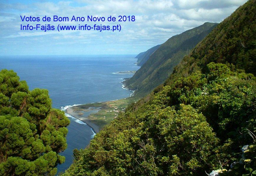 """VOTOS DE BOM ANO NOVO DE 2018, SÃO OS DESEJOS DO """"INFO-FAJÃS"""" – Ilha de São Jorge"""