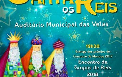 """O """"CANTAR OS REIS"""" NO AUDITÓRIO MUNICIPAL DAS VELAS (Próximo sábado dia 6) – Ilha de São Jorge"""