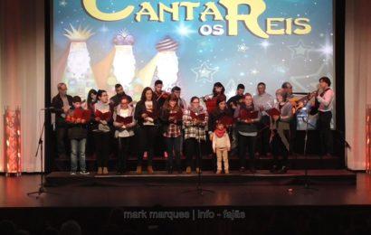 """Grupo de Reis """"Grupo Coral e Juvenil das Manadas""""- Auditório Municipal das Velas (c/ vídeo)"""