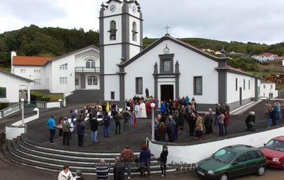 ROSAIS – Banda Filarmónica saúda imagem de Santo Antão – Ilha de São Jorge (c/ vídeo)