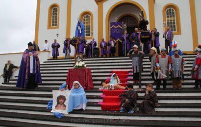 PROCISSÃO DE PASSOS (Encontro) – Santo Antão – Ilha de São Jorge (c/ reportagem fotográfica)
