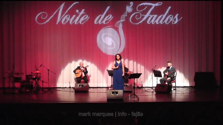 NOITE DE FADOS (Lina Monteiro) – AUDITÓRIO MUNICIPAL DE VELAS – Ilha de São Jorge  (c/ vídeo)