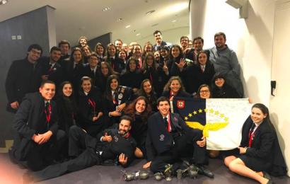 TAUA -Tuna Académica da Universidade dos Açores foi vencedora de Festival em Vila Real de Trás Os Montes (Seis dos seus elementos são da Ilha de São Jorge)