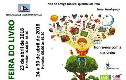 FEIRA DO LIVRO (23 A 30 DE ABRIL) – Escola Básica e Secundária de Velas – Ilha de São Jorge