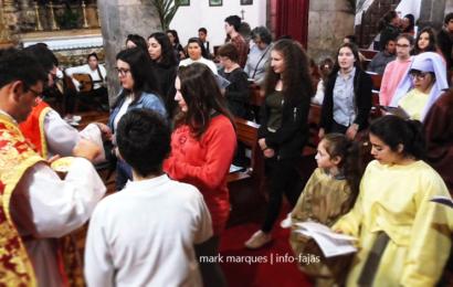 DIA MUNDIAL DA JUVENTUDE 2018 – (MOMENTOS DA EUCARISTIA) – Vila do Topo – Ilha de São Jorge (c/ vídeo)