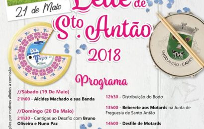 FESTA E BODO DE LEITE EM SANTO ANTÃO (Próximos dias 19 a 21 de Maio) – Ilha de São Jorge