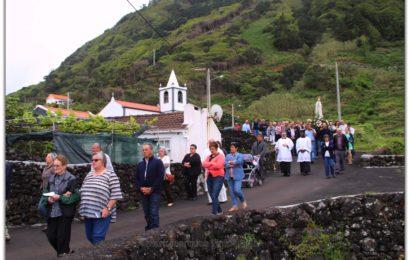 PROCISSÃO DE Nª SRª DE FÁTIMA – FAJÃ DA RIBEIRA D`AREIA – Ilha de São Jorge (c/ reportagem fotográfica)