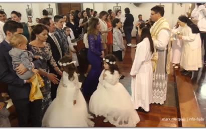 """""""MISSA"""" – FESTA DO DIVINO ESPÍRITO SANTO (5º JANTAR) – Santo Antão – Ilha de São Jorge (c/ vídeo)"""