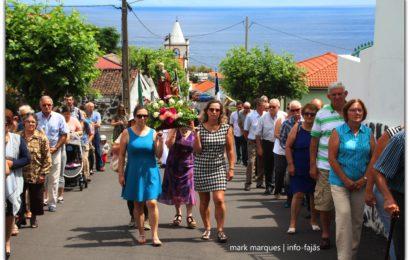 FAJÃ DO OUVIDOR CELEBRA O SÃO JOÃO (Procissão) – Norte Grande – Ilha de São Jorge (c/ vídeo)