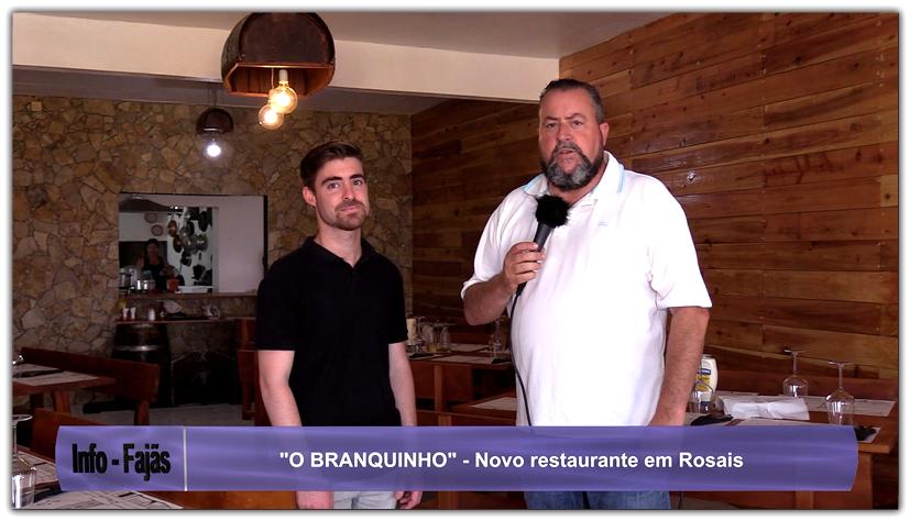"""""""O BRANQUINHO"""" – Novo Restaurante na freguesia de Rosais – Ilha de São Jorge (c/ vídeo)"""