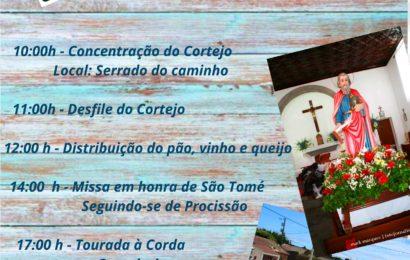 BODO DE LEITE E FESTA EM SÃO TOMÉ – Santo Antão – Ilha de São Jorge (Próximo Domingo dia 1 de Julho)