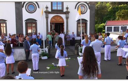 BANDA FILARMÓNICA DE SANTO AMARO SAÚDA SÃO JOÃO BAPTISTA – Santo Amaro – Ilha de São Jorge (c/ vídeo)