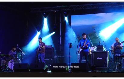 """""""BRAINSTORM"""" EM CONCERTO – FESTIVAL DE JULHO 2018 – Vila da Calheta – Ilha de São Jorge (c/ vídeo)"""