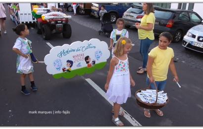 """MARCHA DO JARDIM INFANTIL """" O GOLFINHO"""" – Festival de Julho 2018 – Vila da Calheta – Ilha de São Jorge (c/ vídeo)"""