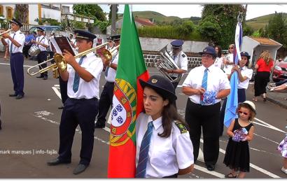 BANDA NOVA ALIANÇA – FESTA DE Nª SRª DE LOURDES EM SANTO ANTÃO – Ilha de São Jorge (c/ vídeo)