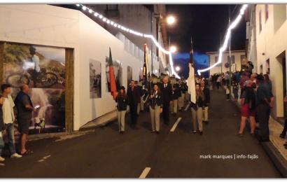 BANDA RECREIO DE SÃO LÁZARO DESFILA NO FESTIVAL DE JULHO 2018 – Vila da Calheta / Ilha de São Jorge (c/ vídeo)